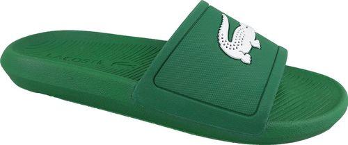 Lacoste Klapki męskie Croco Slide zielone r. 43 (737CMA00181R7)