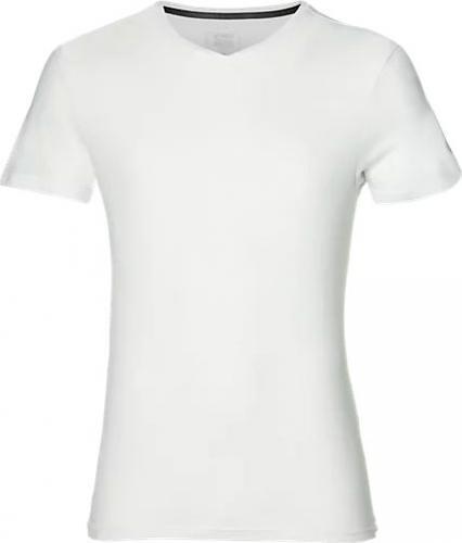Asics Koszulka męska Esnt SS Top Hex Tee biała r. L (155233-0014)