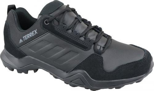 Adidas Buty męskie Terrex Ax3 Lea czarne r. 46 2/3 (EE9444)