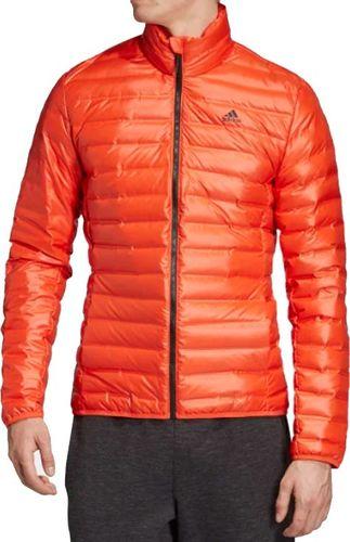 Adidas Kurtka męska Varilite Jacket pomarańczowa r. L (DZ1392)
