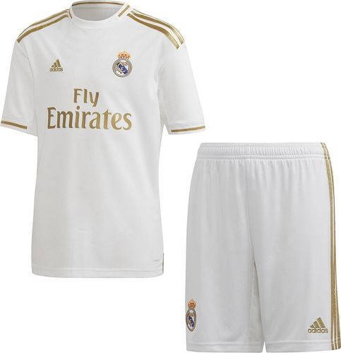 Adidas Komplet adidas Real Madryt H Y Kit DX8841 DX8841 biały 164 cm
