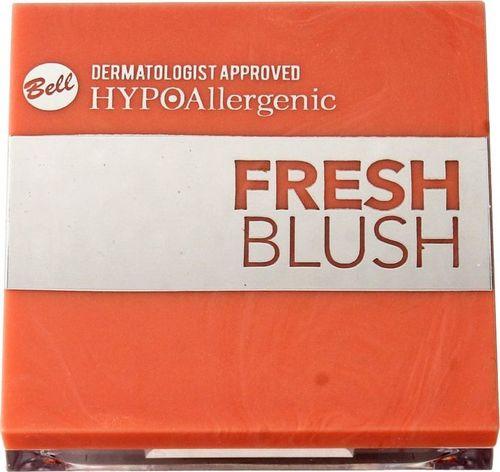 BELL Bell Hypoallergenic Róż do policzków Fresh Blush nr 01 Golden Peach  1szt