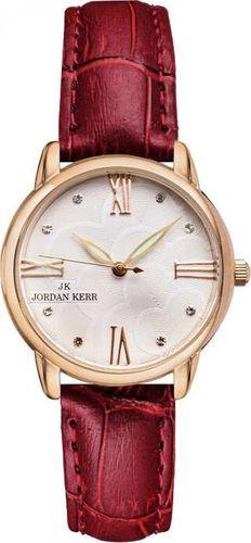 Zegarek Jordan Kerr Zegarek Jordan Kerr L1028 RG RED Damski uniwersalny