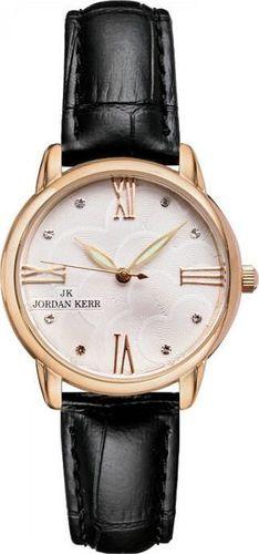 Zegarek Jordan Kerr Zegarek Jordan Kerr L1028 RG BLACK Damski uniwersalny