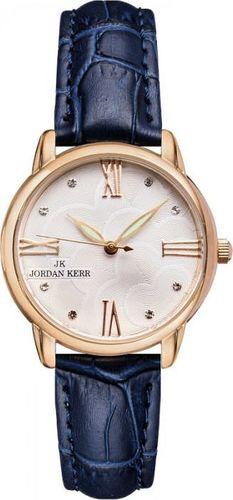Zegarek Jordan Kerr Zegarek Jordan Kerr L1028 RG BLUE Damski uniwersalny