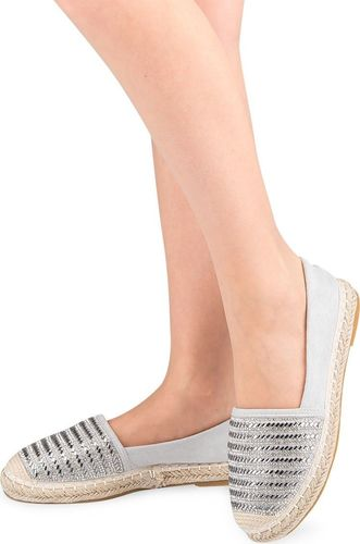 IDEAL SHOES Buty damskie A-9259 szare r. 38