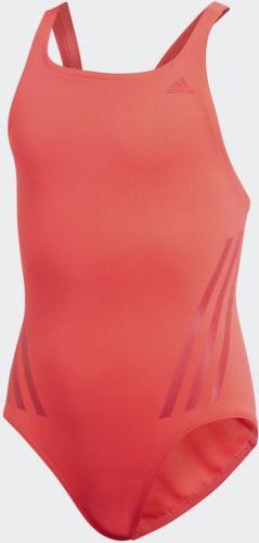 Adidas Strój kąpielowy Pro Suit 3S Y czerwony r. 140 (DQ3280)
