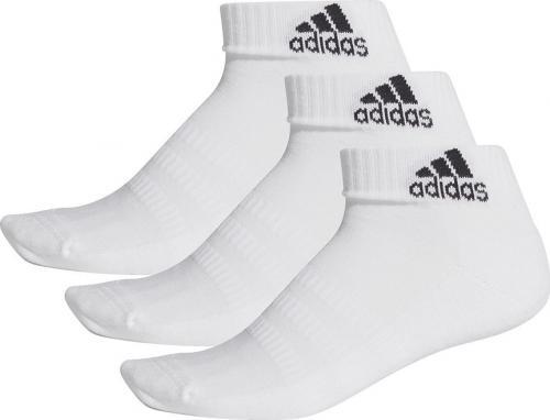 Adidas Skarpety Cush ANK 3PP białe r. 38-40 (DZ9365)