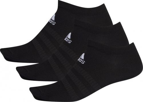Adidas Skarpety Light Low 3PP czarne r. 37-39 (DZ9402)
