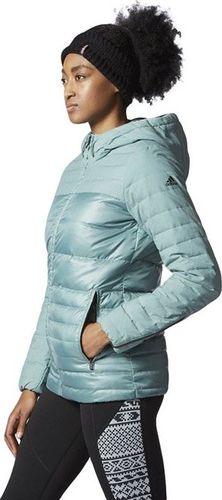 Adidas Kurtka damska Nd Cozy Down Jkt niebieska r. XS (AX8304)