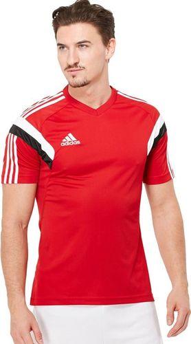 Adidas Koszulka męska Con14 Trg Jsy czerwona r. S (F76979)
