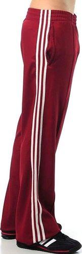 Adidas Spodnie męskie Nd Beckenbauer Pant czerwone r. 2XS (E14561)