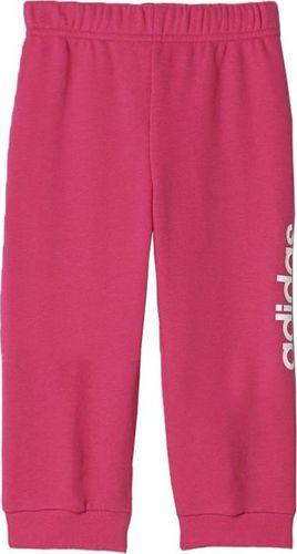 Adidas Spodnie dziecięce I Fv Kn Pant różowe r. 104 (AK2641)