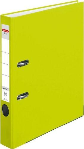 Segregator Herlitz Segregator A4 5 cm PP neon green Q file