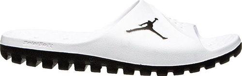 Nike Klapki Jordan Super Fly Team Slide  białe r. 45 (881572-110)