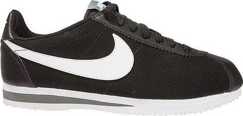 "Nike Buty Nike Cortez Basic Leather - ""Black/Gym Red"" 540998-019 47.5"