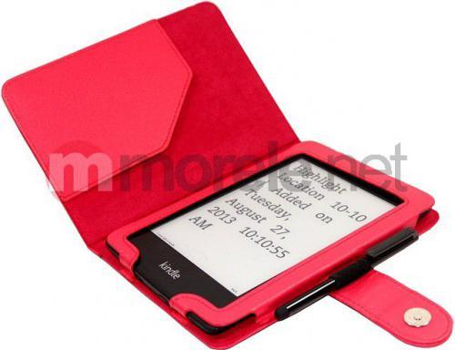 Pokrowiec C-Tech Kindle Paperwhite (Czerwony) (AKC-06R)