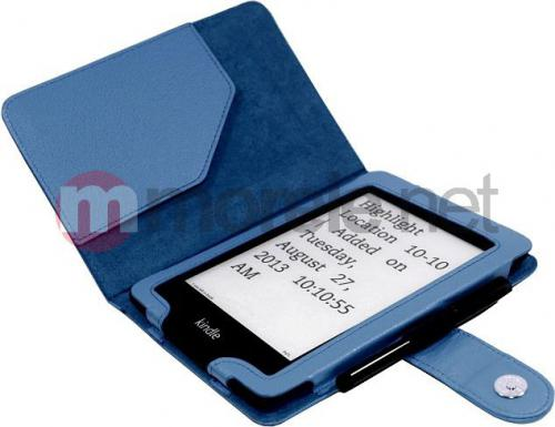 Pokrowiec C-Tech Kindle Paperwhite (Niebieski) (AKC-06BL)