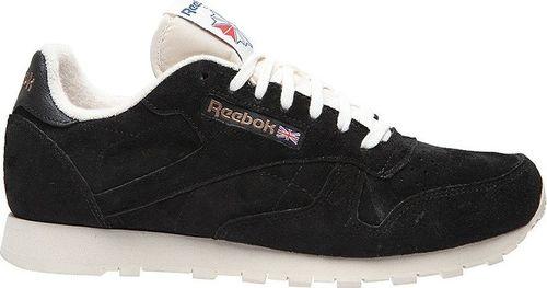 Reebok Buty męskie Cl Leather Clean Uj czarne r. 41 (V67817)