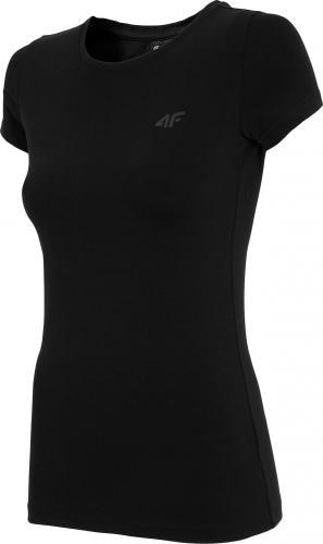 4f Koszulka damska H4Z19-TSD001 czarna r. L