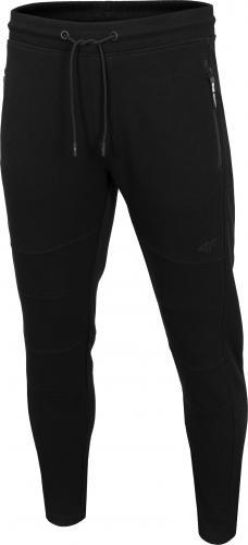 4f Spodnie męskie H4Z19-SPMD072 czarne r. L