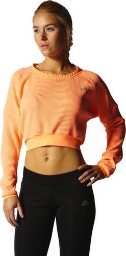 Adidas Bluza damska Nd CozyPull W pomarańczowa r. XL (S13750)