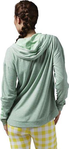 Reebok Bluza damska Wor Zip Hood zielona r. M (AJ3406)