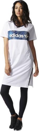 Adidas Sukienka sportowa Nd Bg Bf Tee Dress biała r. 40 (BQ1004)