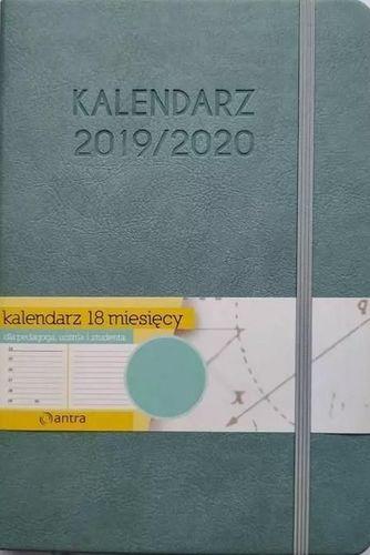 ANTRA Kalendarz A5 2019/2020 miętowy 18 M-cy ANTRA