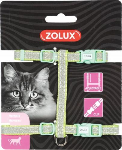 Zolux Szelki nylon regul. SHINY kol. zielony
