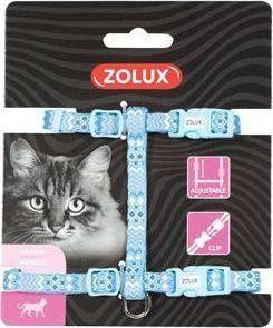 Zolux Szelki nylon regul. ETHNIC kol. niebieski