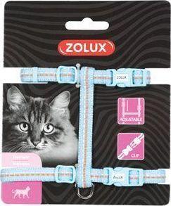 Zolux Szelki nylon regul. TEMPO kol. niebieski