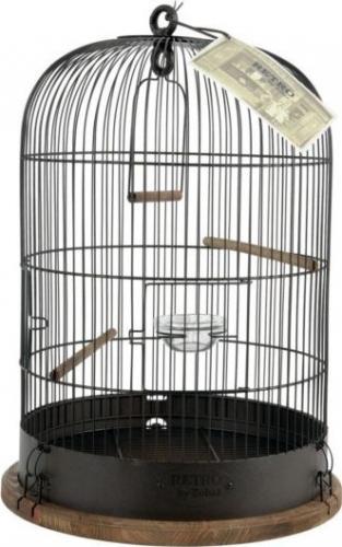 Zolux Klatka Retro Lisette śr. 35 dla ptaków czarna