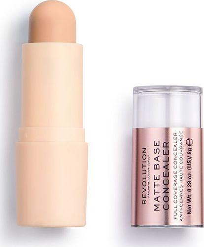 Makeup Revolution Makeup Revolution, korektor w sztyfcie Matte Base Concealer C6, 8 g