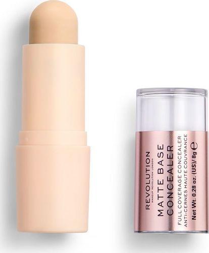 Makeup Revolution Makeup Revolution, korektor w sztyfcie Matte Base Concealer C2, 8 g