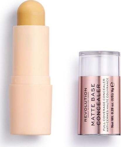 Makeup Revolution Makeup Revolution, korektor w sztyfcie Matte Base Concealer C8,5, 8 g