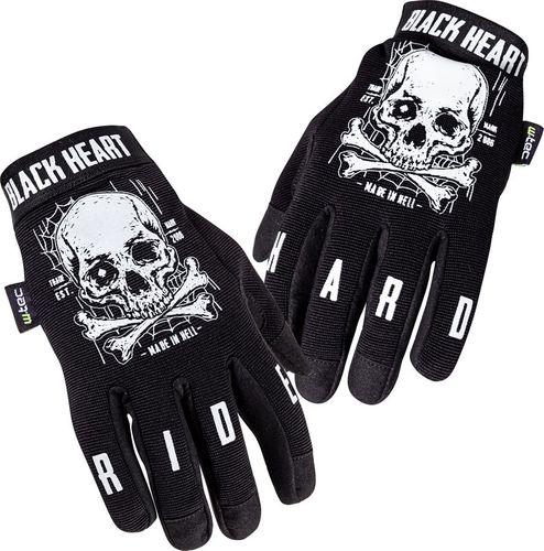 W-TEC Rękawice motocyklowe Web Skull czarne r. L