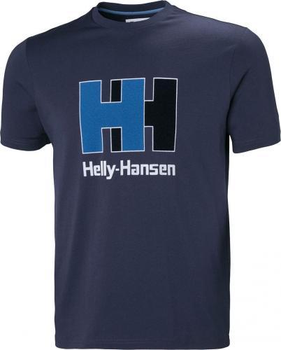 Helly Hansen Koszulka męska Hh Logo T-Shirt Evening Blue r. L