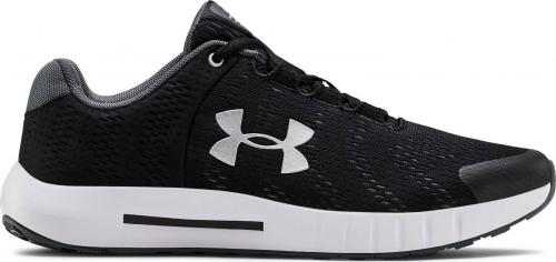 Under Armour Buty damskie Gs Pursuit Bp Black/White r. 36 (3022092-001)