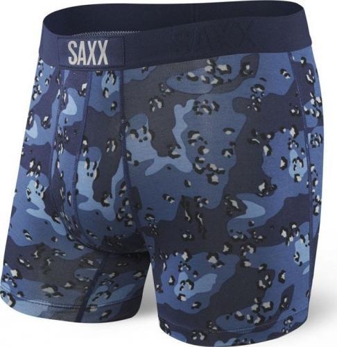 SAXX Bokserki Vibe Boxer Brief blue nighthawk r. L (SXBM35BNH)