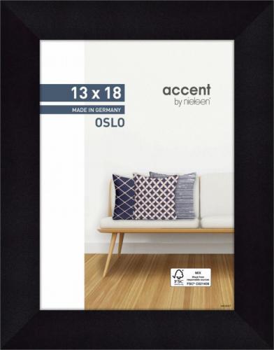Ramka Nielsen Design Accent Oslo 13x18 Wooden Frame black