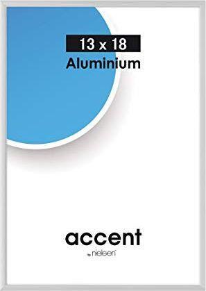 Ramka Nielsen Design Accent 13x18 Aluminium silver matt