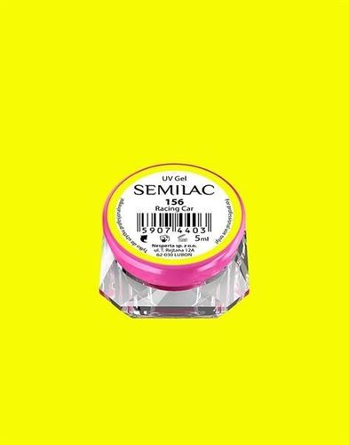 Semilac Semilac Żel UV Gel Color 156 Racing Car 5ml uniwersalny
