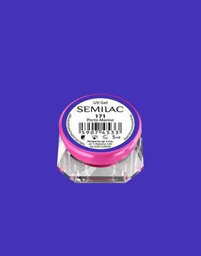 Semilac Semilac Żel UV Gel Color 171 Porto Marine 5ml uniwersalny