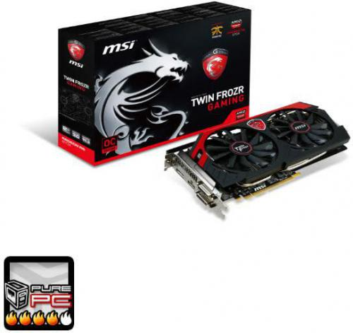 Karta graficzna MSI R9 270X GAMING 2GB DDR5 PCI-E 256BIT 2DVI/HDMI/DP BOX - (R9 270X GAMING 2G)