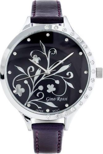 Zegarek Gino Rossi GINO ROSSI - LILLY (zg651k) purple uniwersalny