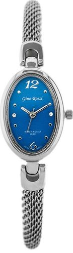 Zegarek Gino Rossi Gino Rossi - SENSATION (zg607f) silver/bondi blue uniwersalny