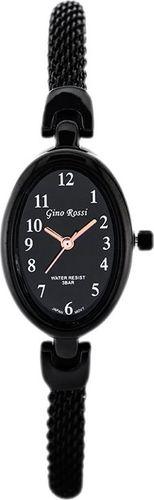 Zegarek Gino Rossi Gino Rossi - SENSATION (zg607e) black uniwersalny