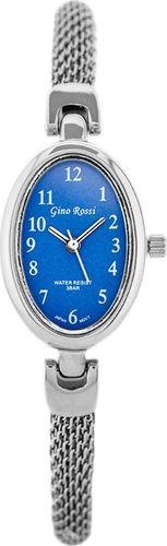Zegarek Gino Rossi Gino Rossi - SENSATION (zg607d) silver/blue uniwersalny