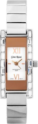 Zegarek Gino Rossi Gino Rossi 5478B - CIRIA (zg552e) rosegold/silver uniwersalny